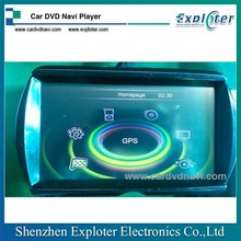 Mini 2014 Car DVD Navi Player 6.95 inch Screen With GPS Bluetooth IPOD