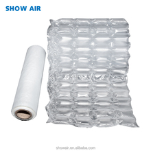 Beijing manufacturer PE plastic packing material inflatable transparent air column buffer roll express packing cushion film