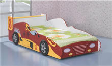 2017 Children modern sports cars shaped beds made out of E1 MDF board