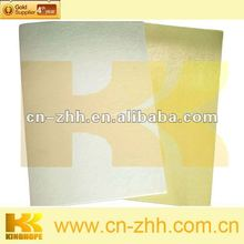 Chemical sheet with 2 sides glue thermal glue sheets counter shoe upper
