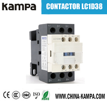 LC1-D38 220v 3P+NO 38A China contactor 220v single phase telemechanic magnetic contactor