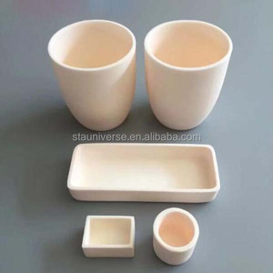 Low price!!! Crucible/Alumina Ceramic crucible/industrial zirconia crucible manufacturer