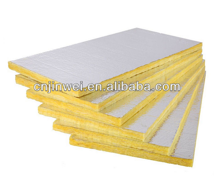 High quality vacuum glass wool blanket thermal insulation