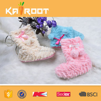 2016 new design soft warm indoor shoes / women boots 206/ boots