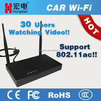 Industrial 4G LTE wifi router for advertisement