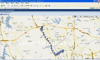 Professional web-based real time GPS tracking software for fleet management for unlimited PST trackers