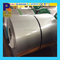 ASTM 301/316/304/201 stainless steel coil cold rolled with 2B finish pvc coated
