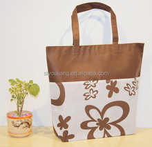 New style pp non woven lamination bag, non woven promotional tote shopping bag