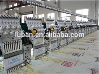 24 heads easy cording computerized embroidery machine price