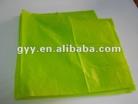 Green solid color tissue paper for clothes and shoes packing