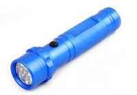 14 LED Flashlight for Germany , middle switch, 3AAA powered