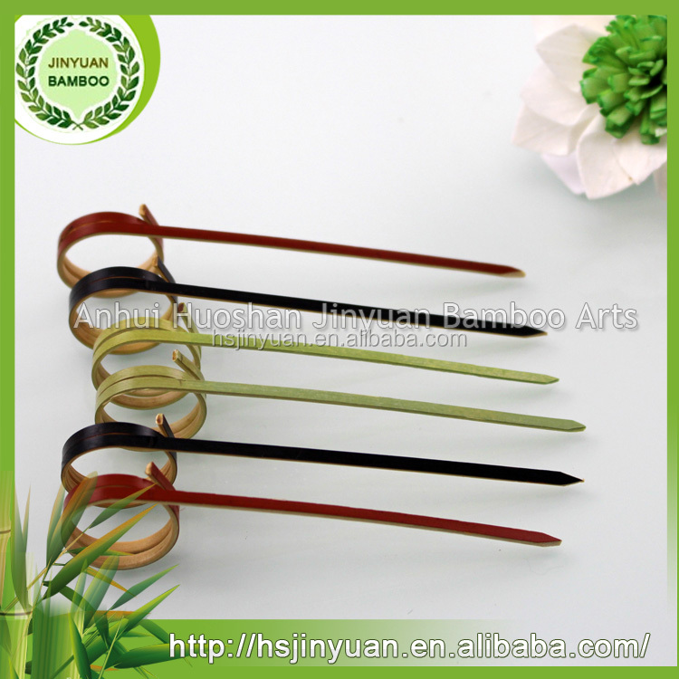 Special Bulk Bamboo Knot Skewers With Different Colors