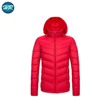 2018 winter casual simple lightweight fashion college red duck down jacket