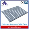 Customized Anti Slip Perforated Aluminum Panels for Wall Building Material Metal Sheet