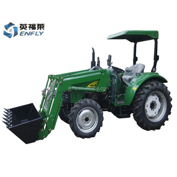 hot sale in Australia ENFLY DQ404 40hp 4WD agricultural tractor with front end loader, backhoe