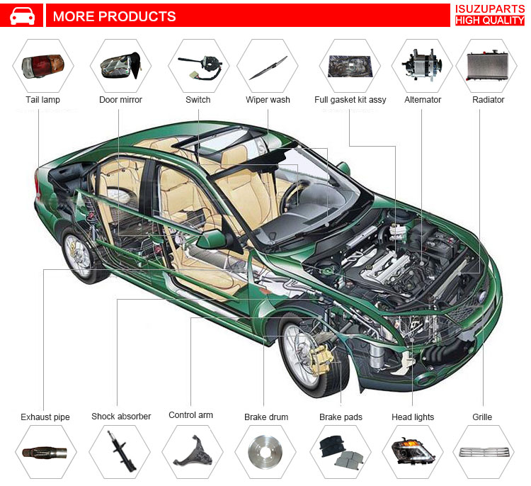 auto spare parts,cars auto parts for Toyota corolla cars