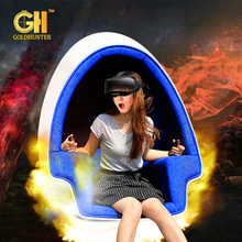 Interactive Virtual Reality Equipment Experience 1/2/3 Seats 360 Degree Cinema Simulator 9D VR