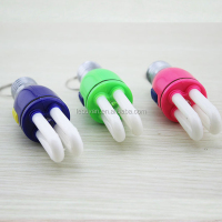 China factory direct multi tool keychain wholesale bulb shape keychainfor bulb company gifts