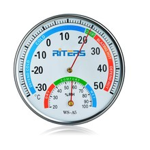 WS-A5 Riters mechanical thermo hygrometer dial thermometer temperature/humidity meter