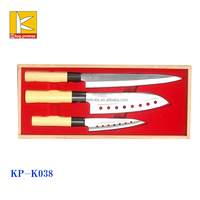 new design stainless steel Japanese knife set