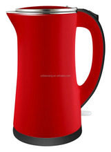 water kettle stainless RED