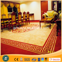 Wall to wall hand tufted wool carpet and fire resistant carpet for hotel hall ,hotel banquet,hotel room