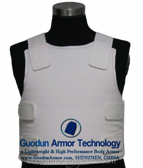 Tactical military and concealable Ballistic Resistance/ bullet proof Vest for military/police