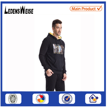 100% organic cotton sport fitted pullover hoodie cheap blank hoodies men with custom <strong>logo</strong>