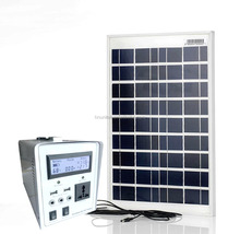 AC 220V Solar Power System with 300W Inverter and 100W Solar Panel