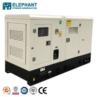 Home Use 32kw 40kVA lovol Portable Diesel Generator Set