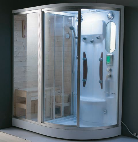 sauna and steam combined room WN-166