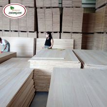 Manufacturer Price Top Quality Paulownia Wood Timber Edge Glued Board for Furniture