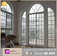 2015 LINGYIN FACTORY villa house windows pictures arch shaped design