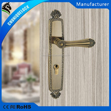 3816-257#classical zinc alloy mortise lock exterior and interior use
