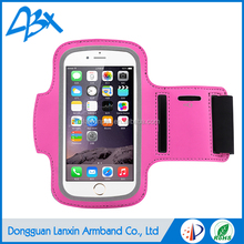 New products neoprene lycra material running pouch for iPhone 6/6s and smartphones within 5""