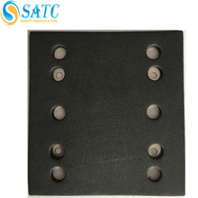 Customized thick silicon carbide abrasive sanding pad