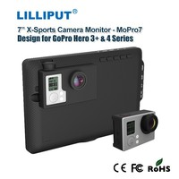 "LILLIPUT 7"" Go Pro X-treme sports camera go pro monitor, with 1280*800 high resolution"