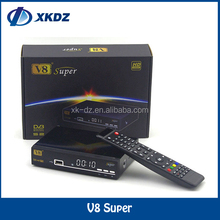 High Digital DVB-S2 1080p Satellite Receiver V8 Super Decoder Free To Air Set Top Box Support Twin Protocol