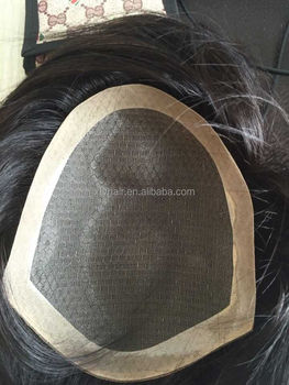 Aliexpress Top sale for 100% human hair Toupee with exquisite workmanship for men