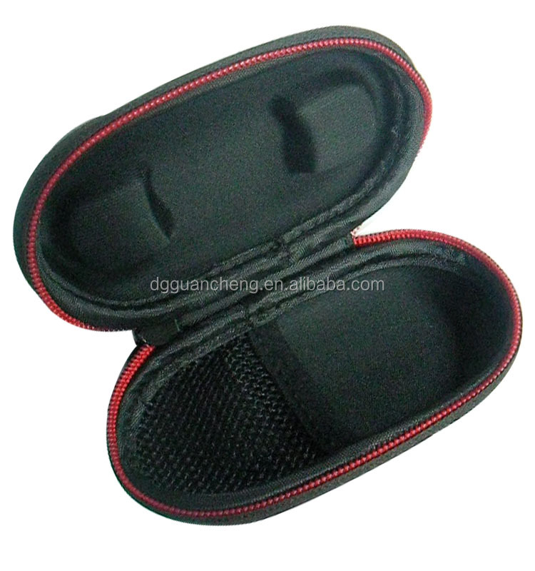 GC---Wonderful Surprise Rectangular Zipper Enclosure Inner Pocket EVA Earphone Bag
