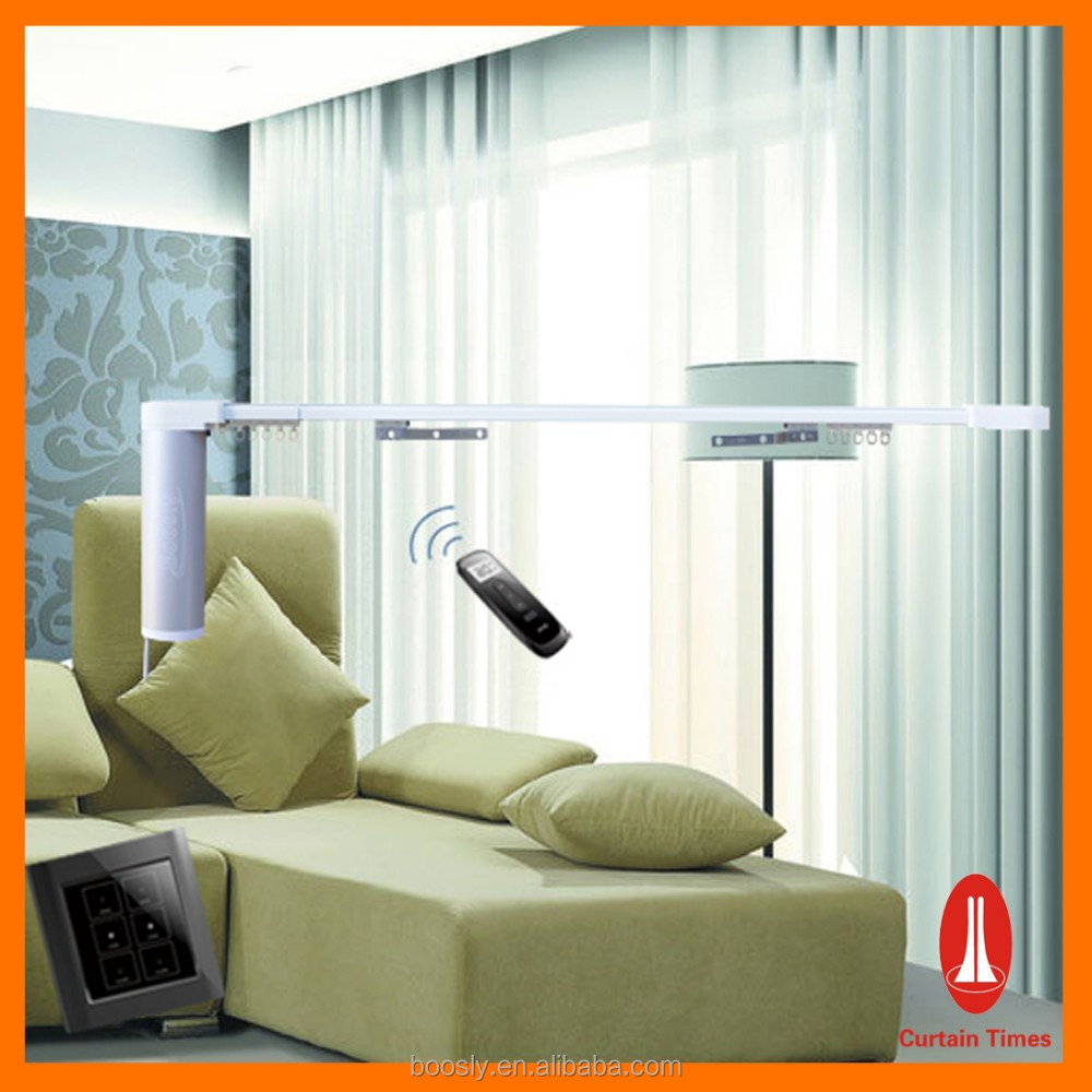 Double Motorized Curtain Rods