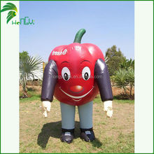 Fine Workmanship &Good Quality Inflatable The Human Body Of The Red Bell Papper