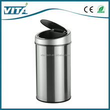 50L Hot Sale Sensor Trash Bin Auto Stainless Steel Container Homes