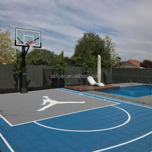High Quality Basketball Futsal Court Cost Interactive Flooring