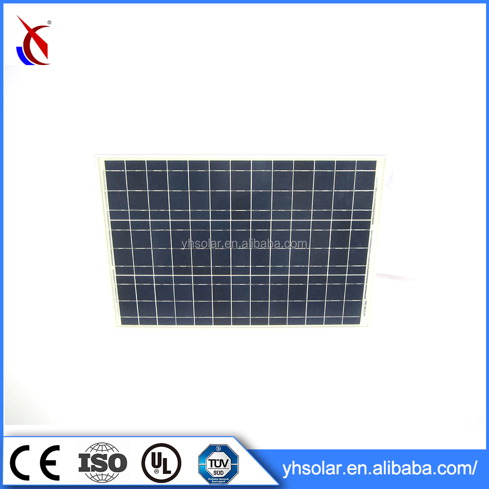 2017 New Solar Panel / Photovoltaic Solar Cell 50W
