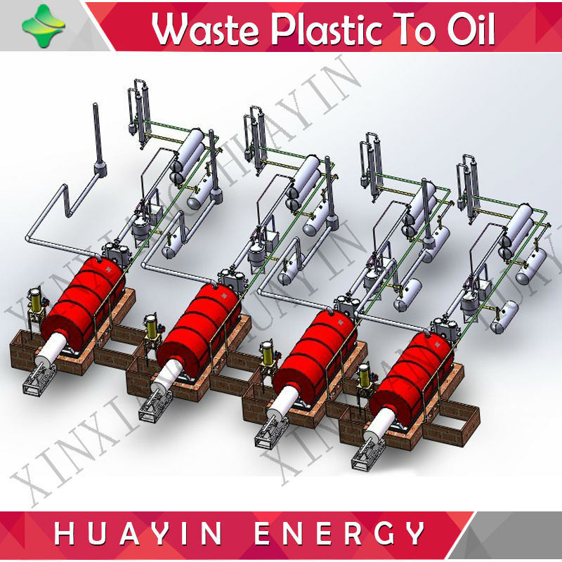 China advanced plastic waste material project