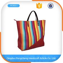 cheap wholesale transparent lady design handmade plain paper straw bag with handle