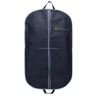 Resuable pvc Garment Bag Suit Cover breathable suit/dress cover bag