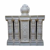 casting decorative concrete baluster mold for sale