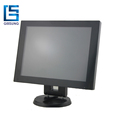No Bezel 12 Inch Ture Flat 12V LCD Pos Monitor With Touchscreen